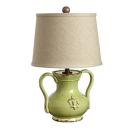 Vietri Rustic Collection Small Handled Pistachio Mini Lam