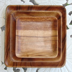 Wood Plates and Serveware & Wood Plates and Serveware - Pineapple Post Gifts