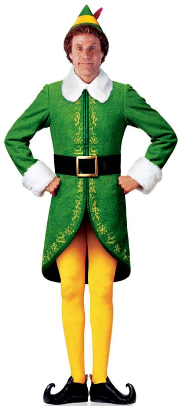 Furniture Rental Indianapolis Elf (Will Ferrell) Cutout - Indianapolis - Party Time Rental