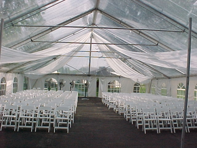 40u0027 x 60u0027 Clear Frame Tent & 40u0027 x 60u0027 Clear Frame Tent - Indianapolis - Party Time Rental