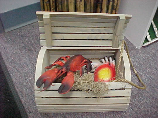 Lobstercrab Trap Wooden Indianapolis Party Time Rental